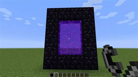 how to make a nether portal in minecraft pc ps4 harrisminecraft Nether