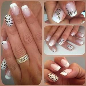 Ongles Pinterest : deco leopard nail art pinterest ongles ongle deco et manucure ~ Melissatoandfro.com Idées de Décoration