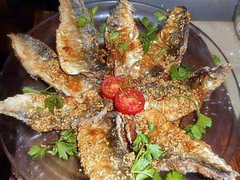 cuisiner filet de maquereau recette de filets de maquereau frits aux graines de sésame