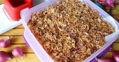 Oct 1, 2019·3 min read. Resep Bawang goreng renyah kriuk tahan lama oleh Dapure Icha - Cookpad