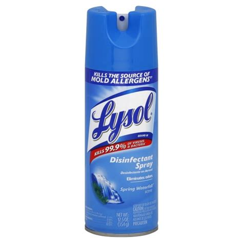 Lysol Disinfectant Spring Waterfall Aerosol Spray