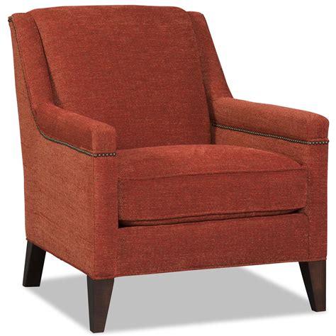 contemporary club chair with nailhead trim by sam