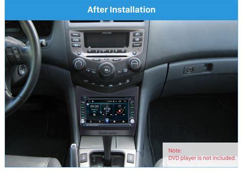 Popular Black Din Honda Accord Car Radio Fascia