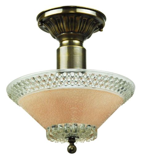 vintage hardware lighting antique glass ceiling bowl