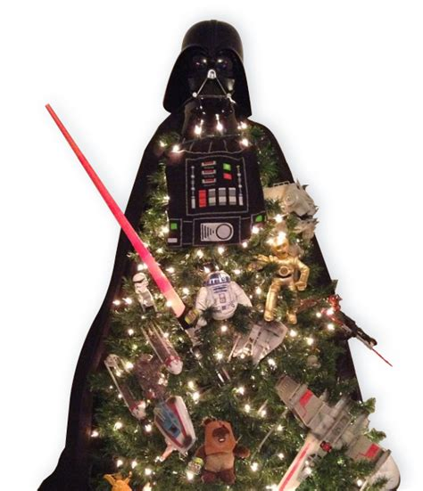 darth vader christmas tree the 12 days of networking