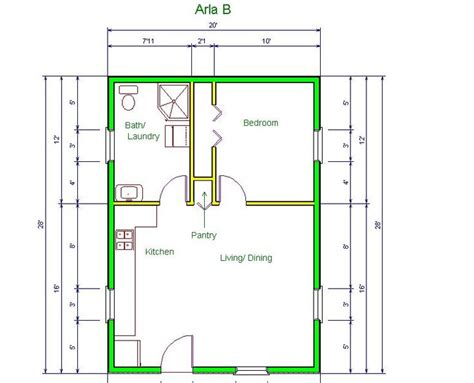 apt floor plan arla model  floor plan