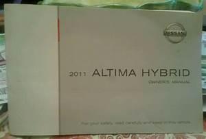 Brand New Sealed Oem 2011 Nissan Altima Hybrid Owners