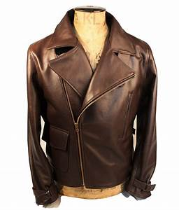 Ww2 Size Chart Captain America The First Avenger Brown Genuine Leather Jacket