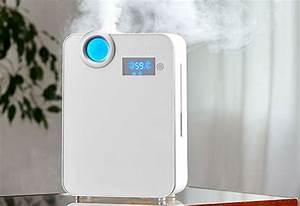 Smart Mist Ultrasonic Humidifier   Sharper Image