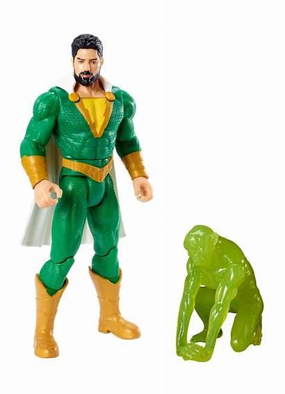 Shazam Figures Mattel Sins Deadly Action Toy