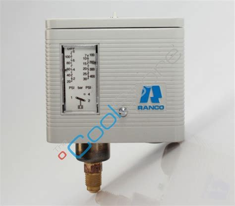single pressure switch ranco 016 h 6750 wc a coolstore store