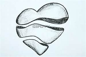 Easy Broken Heart Drawings | Zoominmedical. - Cliparts.co