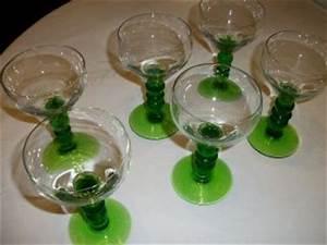 Wassergläser Mit Stiel : glas kristall gebrauchsglas antiquit ten ~ Buech-reservation.com Haus und Dekorationen