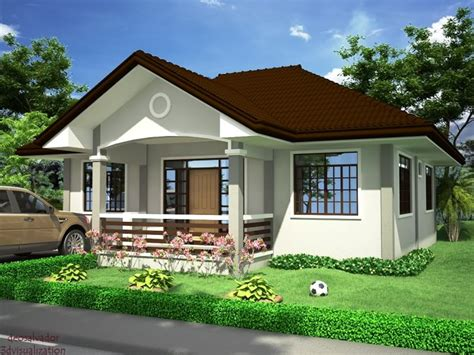 Home Design Pictures : White Bungalow House Philippines