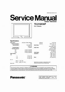 Free Download Schematic Diagram Panasonic Chassis Gl1 Type Tc-21gx30p Tv