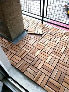 enjoy the warmth and beauty of wood wood tiles hum ideas With katzennetz balkon mit flos garden