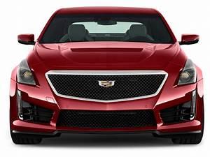 Image: 2017 Cadillac CTS-V 4-door Sedan Front Exterior