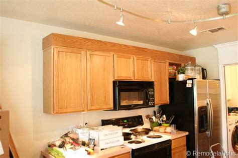 how to update a kitchen with oak cabinets update builder grade cabinets fast without painting 9844