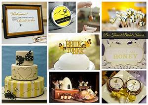 Bee Themed Bridal Shower Inspiration - Aisle Perfect