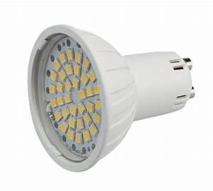 Ampoule Led Gu10 Blanc Froid : 1 ampoule led maison gu10 3 6w a 36 led smd 220v couleur ~ Edinachiropracticcenter.com Idées de Décoration