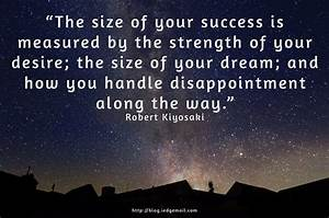 Size Of Your Success