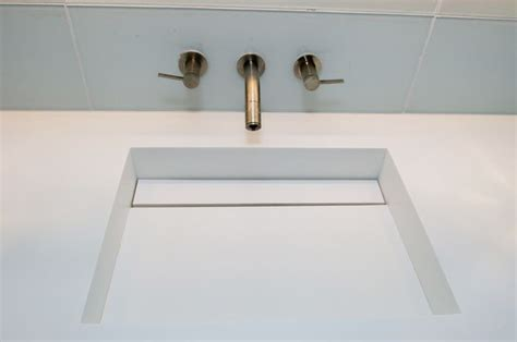 43 Corian Integrated Bathroom Sink Our Solid Surface Work