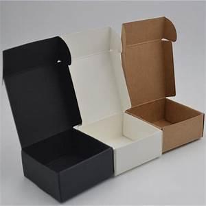 10pcs  Lot 12sizes Small Kraft Paper Box Brown Cardboard