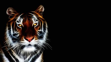 abstract tiger wallpaper