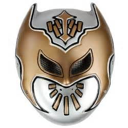 WWE Sin Cara Mask Coloring Pages