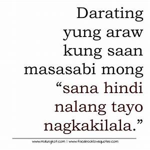 Tagalog Sad Love Quotes | Patama Quotes | Pinterest ...