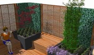 Garten Sichtschutz Holz : sichtschutz im garten aus holz kunstrasen garten ~ Whattoseeinmadrid.com Haus und Dekorationen