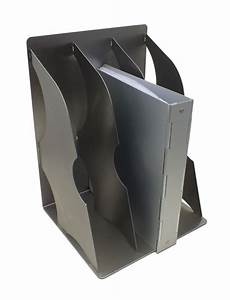 stainless steel file holders wall mountable document storage With steel document holder