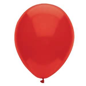 Cheap Real Red 12' Latex Balloons (6 count) at Go4Costumes.com Red Count