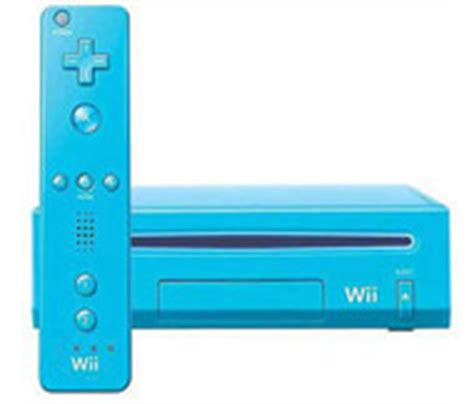 Nintendo Wii Console Gamestop by Nintendo Wii System Original Blue For Nintendo Wii