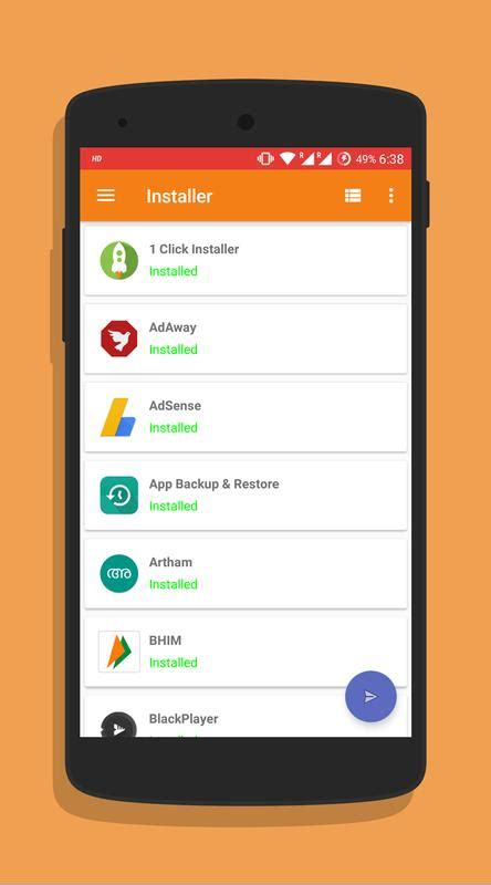 One Click Apk Installer & Backup