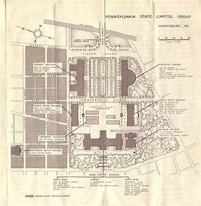 Harrisburg Capitol Map