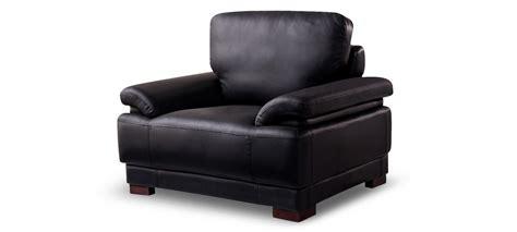 fauteuil en cuir fauteuil design cuir noir exp 233 di 233 en 24h