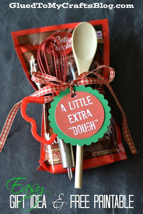 Easy Gift Idea & Free Printable