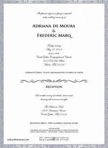 wedding invitation fresh dress code wedding invitati With wedding reception dress code