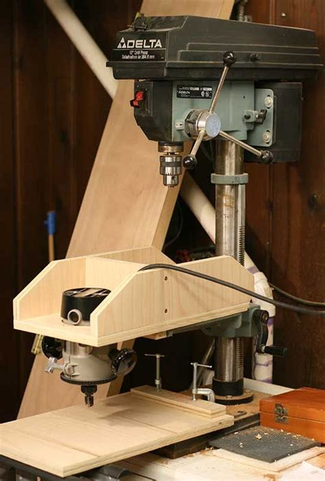 homemade overarm router luthiertalkcom woodworking