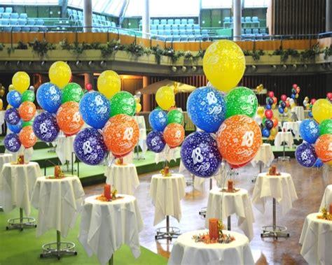 geburtstagsfeier 18 ideen geburtstagballons 18 geburtstag 10 st 252 ck geburtstagsballons 10er beutel luftballons mit