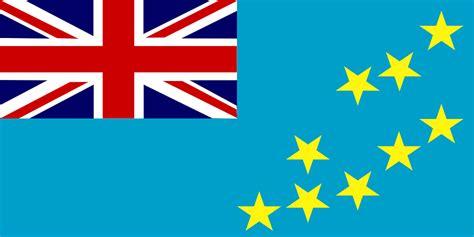 Vector gratis: Bandera, Tuvalu, Oceanía, Polinesia ...