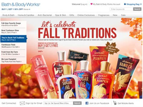 And Bath Collection Website by Bath Works Fall Traditions Bath Fragrance