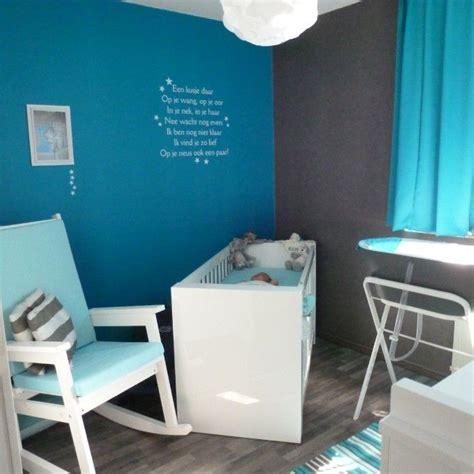 blauw grijze babykamer voor een jongen babykamer ideeen
