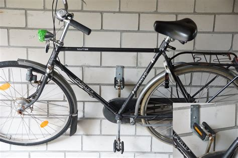 Fahrrad Wandhalter Garage fahrrad wandhalterung test das fahrrad platzsparend