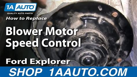 auto repair replace blower motor speed control ford