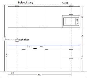 Küchenmöbel Maße Tolle Küchenmöbel Maße #37598 Hause Deko