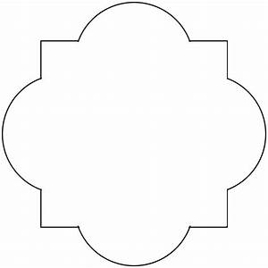 quatrefoil stencil clipart best With moroccan shapes templates