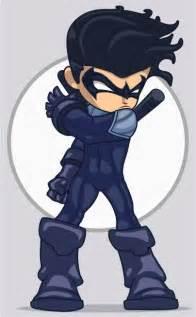 Nightwing and Robin Drawings