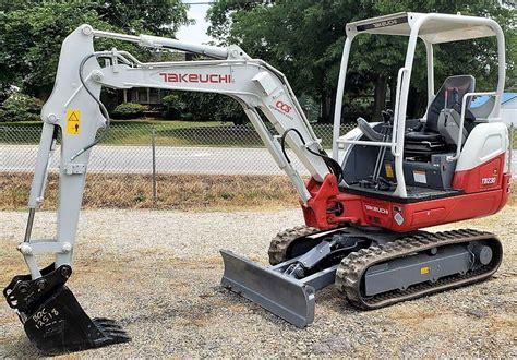 takeuchi tb mini excavator  hours